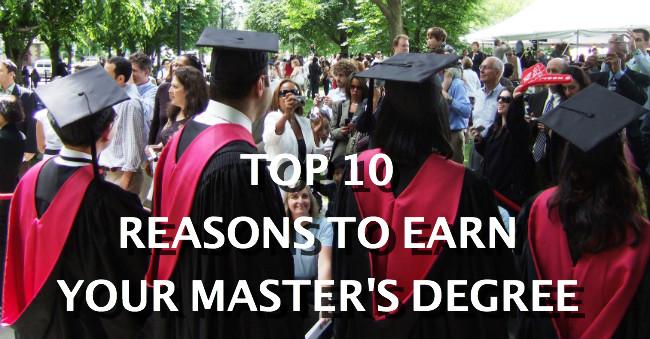 should i get a masters degree