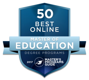 50 BEST ONLINE MASTER OF EDUCATION DEGREE PROGRAMS 2017