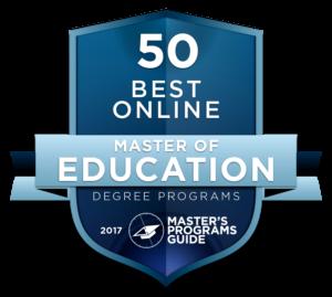 50 BEST ONLINE MASTER OF EDUCATION DEGREE PROGRAMS 2017
