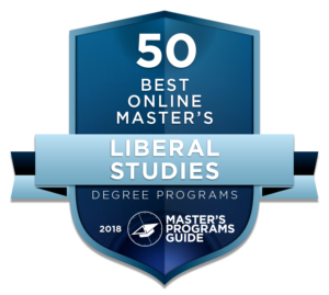 Rutgers University Placed in Top 50 Best Online Master's in Liberal Studies by 2018 Master's Programs Guide