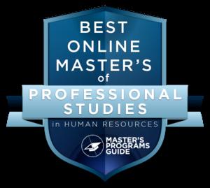 best online hr masters programs
