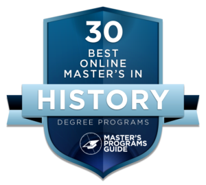 30 Best Online Master's in History Degree Programs 2018
