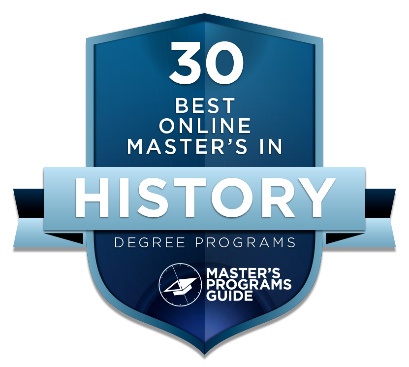 30 best online master's in history degree programs 2018 – master's ...
