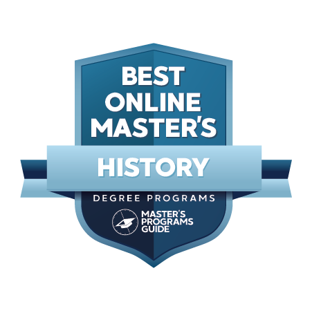 online history masters degree