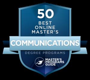 online communication masters programs