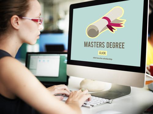 online masters no gre