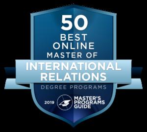 online masters international relations