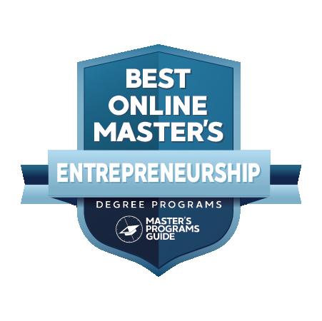 masters degree in entrepreneurship online