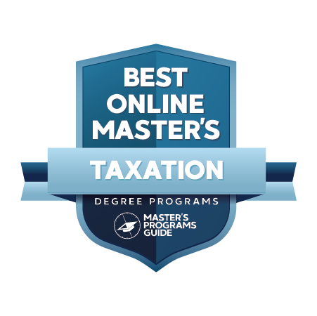 Best Online Master's Programs in Taxation