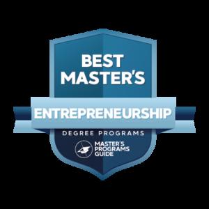 Best Master's in Entrepreneurship