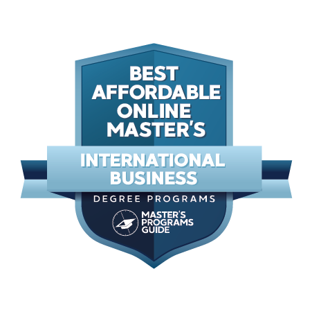 Best Affordable Online Master's in International Business