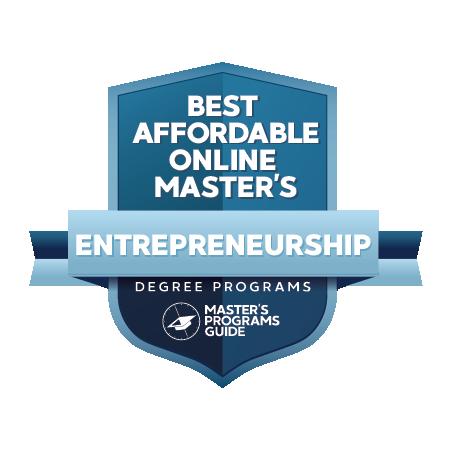 40 Best Affordable Online Master's in Entrepreneurship