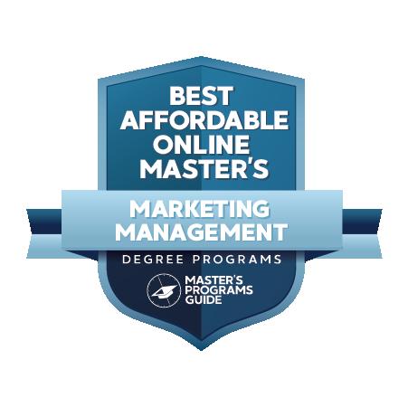 Best Affordable Online Master's in Marketing Management