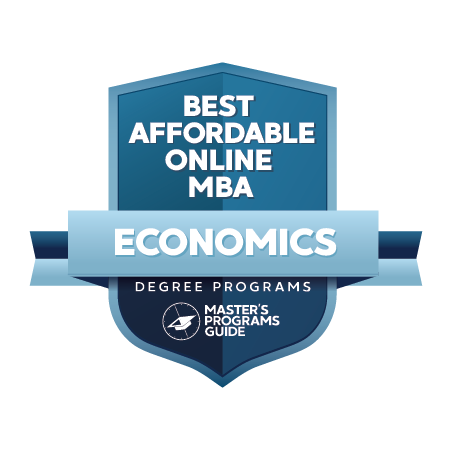 Best Affordable Online MBA in Economics