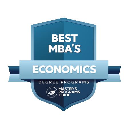 10 BEST MBA IN ECONOMICS
