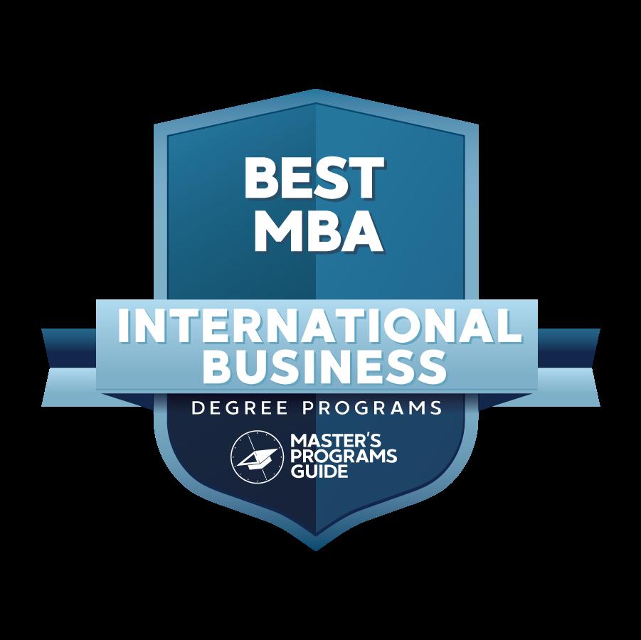 MPG Best MBA International Business